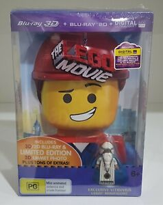 The Lego Movie Limited Edition 3D Blu-ray + Blu-ray - Brand New & Sealed