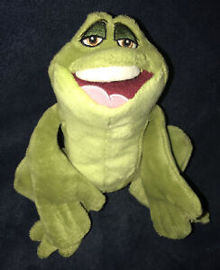 """Disney Princess And The Frog 8"""" Prince Naveen Plush Soft Toy Collectible FROG"""