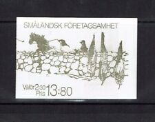 Sweden 1989, Industries of Smaland Towns, Stamp Booklet, MNH