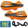 UFO Patrol Universal MX Enduro Handguards in KTM Orange Standard, Fat Bars