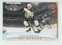(73911) 2011-12 UPPER DECK CANVAS BRAD MARCHAND #C9