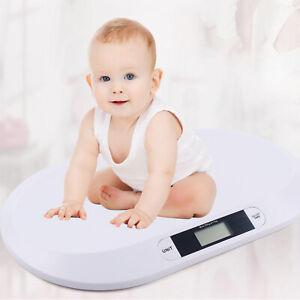 Babywaage Waage Kinderwaage Stillwaage Digital bis 20kg Haustierwaage + Lineal