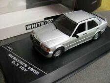 1/43 White Box MB 190E 2.3 16V 1988 silber 216959