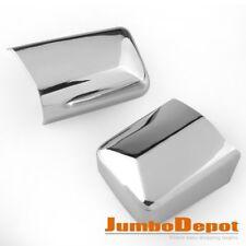 Fit For Mercedes W124 260E 300E Triple Chrome Side Door Mirror Cover Trim Pair