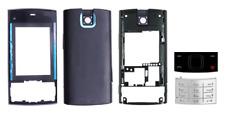 Frontale / Custodia / Cover (Nero e Blu) + Tastiera ~ NOKIA X3 X3-00