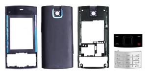 Façade / Coque / Cover (Noir et Bleu) + Clavier  ~ Nokia X3 / X3-00