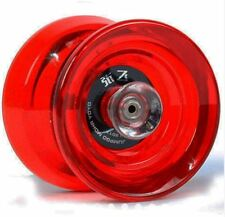 Mohr Retro Play Fiber Glass Jelly Alloy Yoyo Competition - RED
