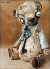 READY to SHIP Unique gift Alla Bears man cave art toy decor scary Steam Punk