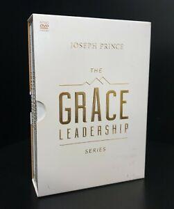 Joseph Prince - The Grace Leadership Series -  5-Disc DVD Box Set - NTSC -