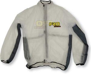 FRO Systems Adult Rain Jacket - Waterproof, Mud, Race, Motocross, MX, BMX,