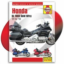 2001-2010 Honda GL 1800 Gold Wing Haynes Repair Manual 2787 Shop Service Garage
