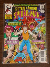 SPIDERMAN PETER PARKER -1 FLASHBACK PROTO GOBLIN MARVEL JULY 1997