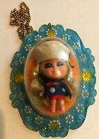 1966 Vintage Lucky Locket Lorelei Liddle Kiddle Doll Little Sailor Girl