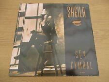 "Sheila E – Sex Cymbal 12"" Mix    Vinyl 12"" UK 1991 House   WARNER BROS - W0019T"