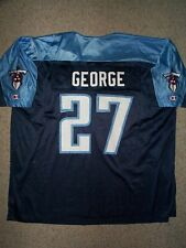 *IRREGULAR* Tennessee Titans EDDIE GEORGE nfl Jersey Adult MENS/MEN'S (XXL-2XL)