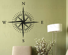 Compass Rose Large Wall Decal Vinyl Sticker Art Decoration Decor Mural G63