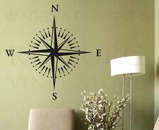 Compass Rose Large Wall Decal Vinyl Sticker Art Decoration Decor Mural G63