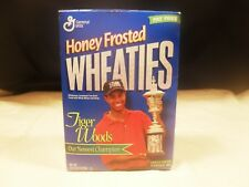 Wheaties Cereal Box ~ Tiger Woods ~ Inaugural Box ~ Full (#2)