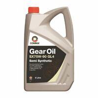 NEW COMMA TRANSMISSION OIL GEAR OIL SX75W90 GL-4 - 5 LITRE SXGL45L BEST QUALITY