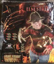 Freddy Krueger PLUS SIZE Adult One Size Costume Nightmare On Elm Street