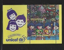 Philippines #2433 MNH S/S CV$3.50 50th Anniv UNICEF Four Children