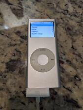 Apple iPod Nano 2nd Generation 2GB Silver MP3 Music Player A1199