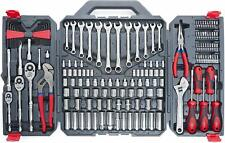 CRESCENT 170 PIECE GENERAL PURPOSE TOOL SET CLOSED CASE GARAGE SHOP HOME TOOLS