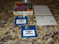 Lords Of Doom (Commodore Amiga, 1993)  3.5 Inch Disk Mint Deutsch Version (Mint)