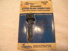 THEXTON Replacement Sealed Beam Connectors (Ford/AMC/Mopar/Chevy) Part # 536