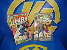 Lote comics Marvel spotlight NICK FURY y MONARK STARSTALKER  H.Chaykin 1976