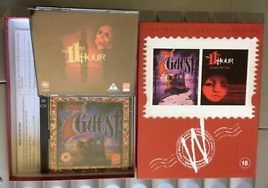 7th GUEST / THE 11th HOUR PC FMV Horror Adventure Virgin White Label Double MINT