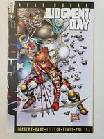 JUDEMENT DAY ALPHA #1 (1997) AWESOME COMICS ALAN MOORE ROB LIEFELD VARIANT COVER