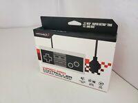 Neuf RETRO-BIT Câblé Pro Contrôleur Pour The Original Nintendo Console Nes #23B
