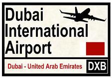 STREET / ROAD SIGNS (DUBAI AIRPORT) - SOUVENIR NOVELTY FRIDGE MAGNET - GIFTS
