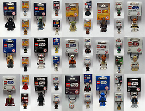 Brand New Lego - Star Wars Keyrings - BNWT - Rare --- LooK in Side ---> Free P&P