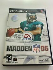 Maddon 06 EA Sports NFL Complete & Tested (PS2) 014633164701 PLAYSTATION 2 USED