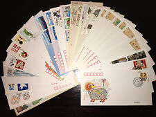 2015 PRC Full Year Stamps & S/S FDCs (85pcs) in Postal Fresh Condition
