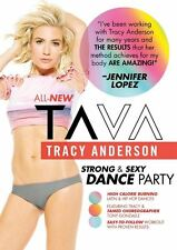 Cardio Dance EXERCISE DVD Tracy Anderson TA VA Strong and Sexy Dance Party