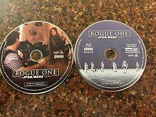 Rogue One A Star Wars Story- Blu-ray Movie and Bonus Blu-ray- Never Watched