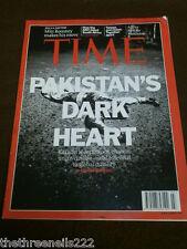TIME MAGAZINE - KARACHI PAKISTAN'S DARK HEART - JAN 16 2012