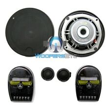"C5-525 JL AUDIO 5-1/4"" PRO CAR COMPONENT SPEAKERS CROSSOVERS SILK TWEETERS NEW"