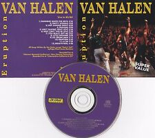 RARE CD LIVE 1983-1986 - VAN HALEN - ERUPTION (1993)