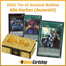 Yu-Gi-Oh! Mega Tin 2021 - Tin of Ancient Battles - Alle Karten Deutsch (Auswahl)