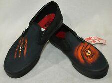 Vans Toddler Boy's Classic Dragon Flame Black/Multi Slip On Shoes -Size 10.5 NWB