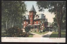 Postcard Amsterdam New York/Ny St Mary's Hospital Victorian Style Building 1906