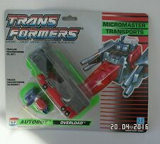 G1 Transformers - Micromasters Transport Autobot Overload PLEASE READ