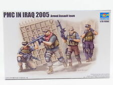 TRUMPETER PMC IN IRAQ 2005 ARMED ASSAULT TEAM Scala 1:35 cod.00419