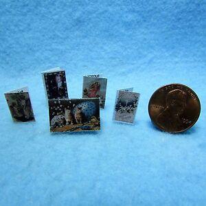 Dollhouse Miniature Easter Card Set ~ Sentiments Inside  TIN1064