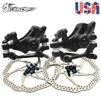 Folding Bike Mechanical Disc Brakes 140/160/180/203mm MTB Bike Disc Brake Rotor