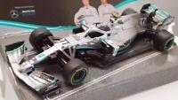 Burago 1/43 Scale Model Car #18 38036 - Mercedes AMG F1 W10 EQ Power+ V.Bottas